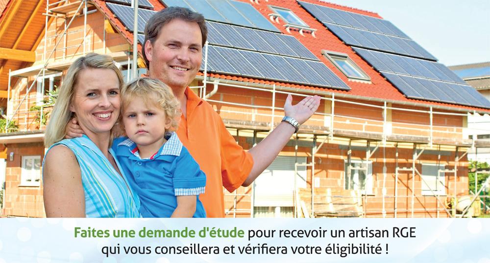 Panneau solaire photovoltaïque et aérovoltaïque