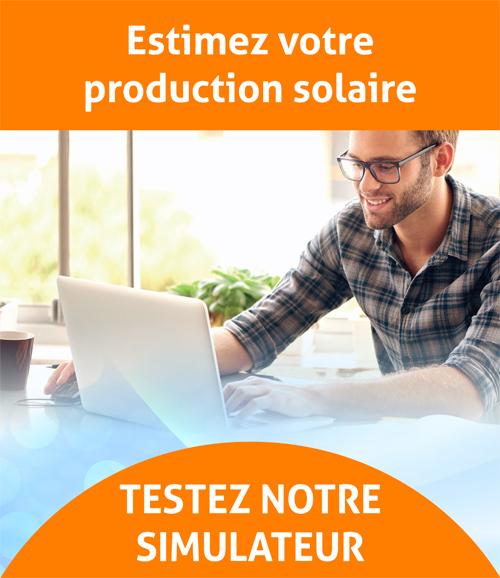 Simulateur solaire photovoltaïque